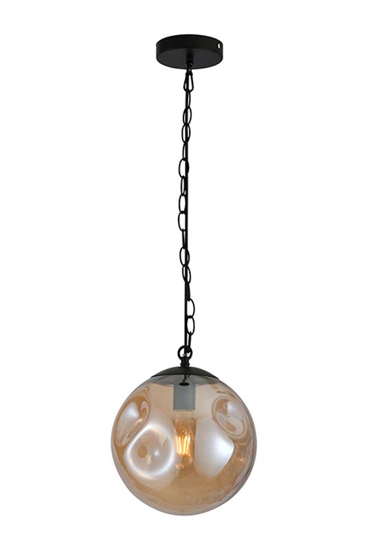 Amber Ball Lamp