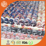 Best selling 45*45 stock rayon fabric with printing rayon fabric stocklot