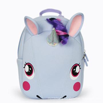 Mochilas Girls Travelling Backpack Bag Mini Hiking Unicorn Backpack