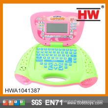 El plástico educativo de la alta calidad embroma ordenadores portátiles
