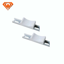 porcelain channel saddle for strut channel