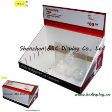 Бумажный Дисплей, всплывающие окна, счетчика pdq картона, бумаги pdq коробки дисплея с SGS (B и C-D047)