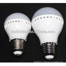 e27 e14 5w led plastic bulb light lamp