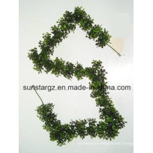 PE Boxwood Artificial Plant for Garden Decoration with SGS Certificate (39888)