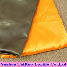 Microfiber Polyester Satin for Women′s Clothes