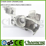 Chaoneng garden tool accessories high quality crankcase 52cc/58cc