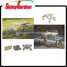 mesa y silla plegables de la comida campestre de la comida campestre y silla