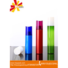 Botella de spray de plástico cosmético cilíndrico