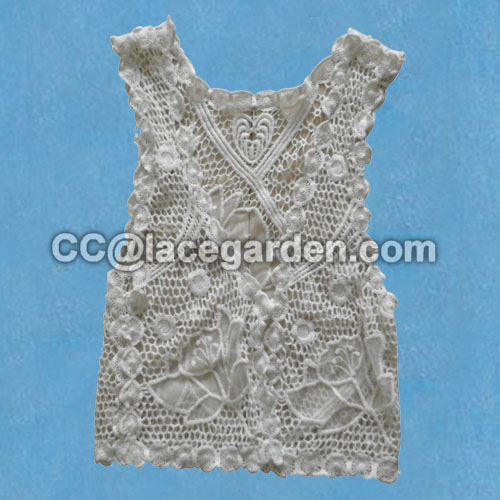 Fashion Women Girl Lace Blouson