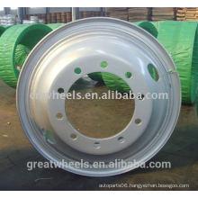Strong truck steel wheel rim 7.50-20