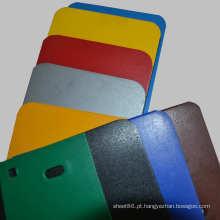 Folha plástica / placa do PE excelente colorido da qualidade