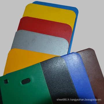 Feuille / panneau en plastique de PE de qualité excellente colorée