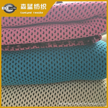polyester cool Honeycomb mesh fabric for summer sportswear uniform  100% polyester cool mesh for summer sportswear uniform