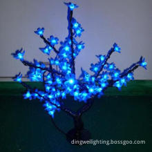 Mini Blue LED Cherry Blossom Lights for Home and Garden Decorations