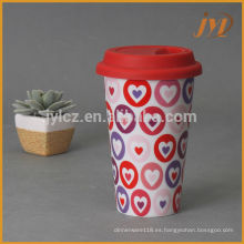 Tazas de café de cerámica 280cc sin mango