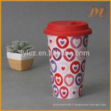 Tasses à café en céramique 280cc sans poignée