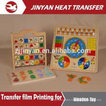 heat transfer film for wooden toy