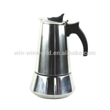 Edelstahl Espresso Kaffeemaschine / Ceffettiere / Cefereras De