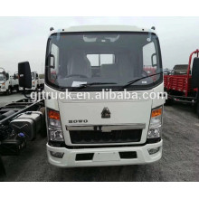 CNG RHD Sinotruk Howo Cargo camión / howo camión de caja de carga / HOWO van camión / HOWO luz de carga / luz van camión / caja pequeña camión
