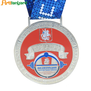 Gold Silver Bronze Award Medals With Soft Enamel