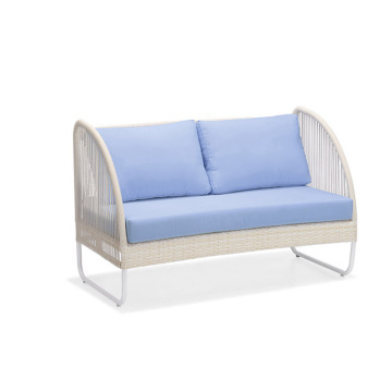 Vrije tijd Wicker Patio Chair Ottoman