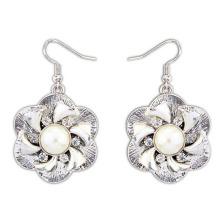 Women Weeding Earrings /African Fashion Good Jewelry Old Silver Plated Earrings
