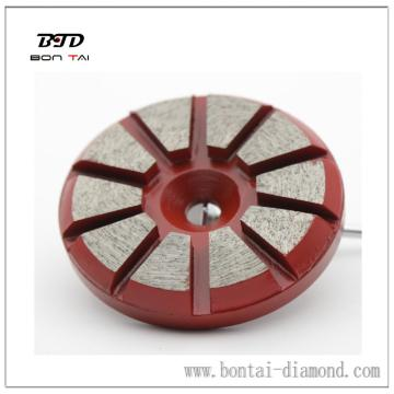 10-seg diamond grinding pad for STI floor grinding machine