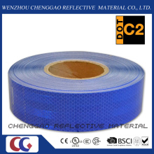 Diamante azul grado cinta reflectante Retro para el tráfico (CG5700-OB)