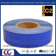 Blue Diamond Grade rétro bandes réfléchissantes pour le trafic (CG5700-OB)