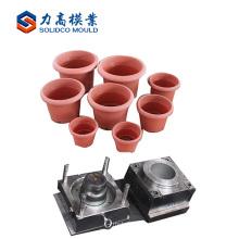 Molde de alta calidad del pote de flor del patio / molde de inyección plástico