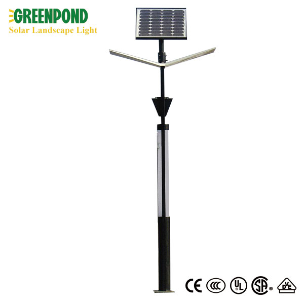 Colorful Solar Landscape Light with Advertisement