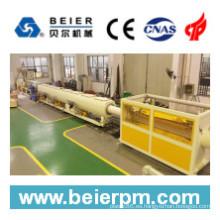 Máquina plástica de la protuberancia de la máquina del tubo / de tubo de 160-450m m PVC / PE / PP