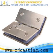 BJ-021 abrazaderas de vidrio de acero inoxidable / herrajes para puertas de vidrio
