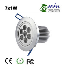 Downlight LED de alta potencia (EW-DLSMD-7W)