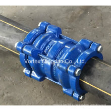 Restrained Coupling for PVC/PE Pipe