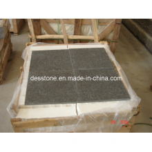 Granite Imperial Brown Flamed Tiles (DES-GT006)