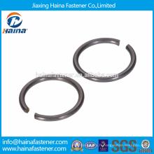 En Stock Chine Fournisseur DIN 7993 Acier inoxydable avec anneaux à encliquetage en acier zingué pour axe