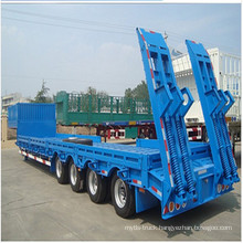 3 Axles Low Bed Semi-Trailer with 60t Sales
