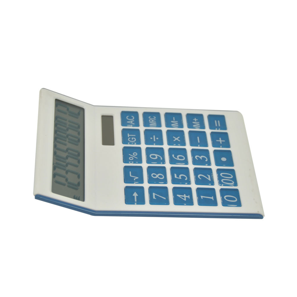 12 Digits Office Calculator with Two Way Power