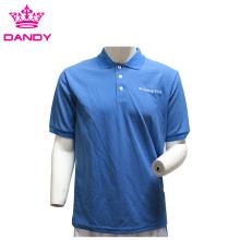 Camisa polo 100% algodão com marca OEM
