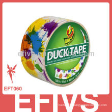 paint splatter pattern customer duct tape DIY