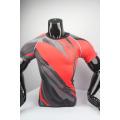 2017 compression uniforms blank fitness shirt wholesale custom design good sublimated compression shirt for man