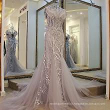 LS01980 meninas de lã para inverno prata luxo dubai vestido de festa imagens full sexy fotos senhora vestido de noite camisa formal