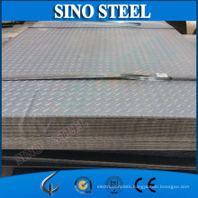 Q195 Q235 Hot Dipped Galvanized Checkered Steel Sheet