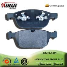 SEMI-METALLIC CAR BRAKE PAD FOR VOLVO XC60 FRONT 2010