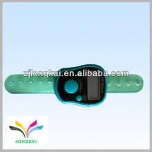2012 venda quente cor verde muslin promoção presente dedo contador de contos