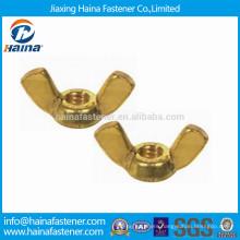 Brass Butterfly Wing Nut DIN315 DIN314