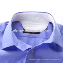 disposable shirt collar pad,made of non woven,airlaid and PE back sheet Collar pad/collar mats/padded collar