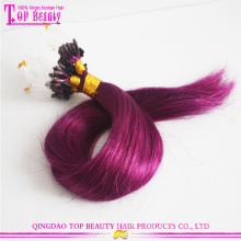 High quality unprocessed loop and lock hair extensions