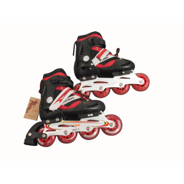 Kids Sports Red and Black Inline Skate